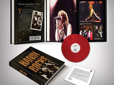 Hanoi Rocks – All Those Wasted Years (Hardcover Book) main photo