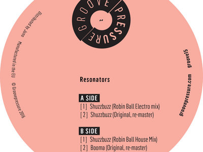 "Resonators - Shuzzbuzz / Booma 12"" vinyl (pre-order) main photo"