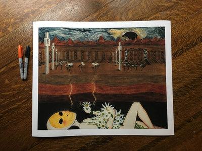"""Upsie Daisies"" 16""x20"" Premium Giclée Print (Unframed) Limited Edition main photo"