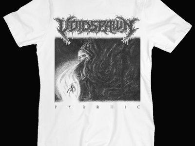 "Voidspawn ""Pyrrhic"" White T-Shirt main photo"