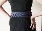 Pinstripe dress photo