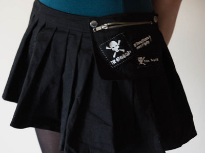 unisex punkrave black skirt (to wear over hotpants/ trousers/ skirts) main photo