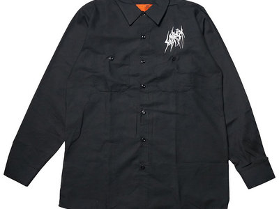 SETE STAR SEPT logo long sleeve work shirt - REDKAP main photo