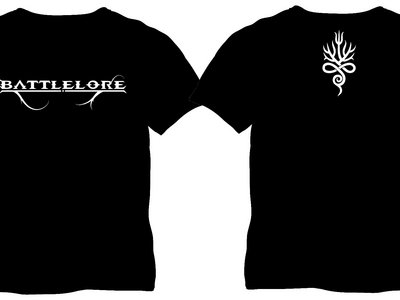 Black LOGO-shirt with backprint main photo