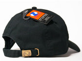 SETE STAR SEPT embroidery cap - NEWHATTAN / Black photo