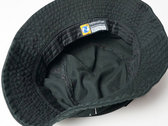 SETE STAR SEPT Bucket Hat - NEWHATTAN / Black photo