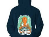 Professor Octopus Zip-Up Hoodie photo