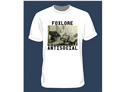 Foxlore Antisocial T Shirt White main photo