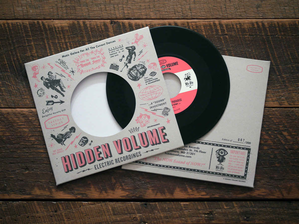 Beehive State Hidden Volume Records
