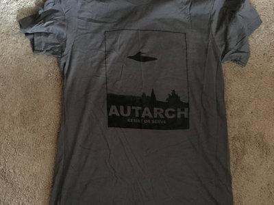 RESIST shirt on grey main photo