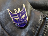 Cybertronic Spree Enamel Lapel Pin photo