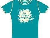 Rubber Wellies T-shirt (mens) photo