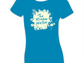 Rubber Wellies T-shirt (ladies) photo