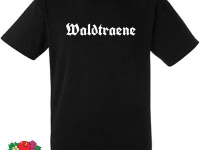 Waldtraene - Logo Schriftzug  T-Shirt main photo