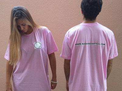 Rádio Quântica t-shirt - Baby pink main photo