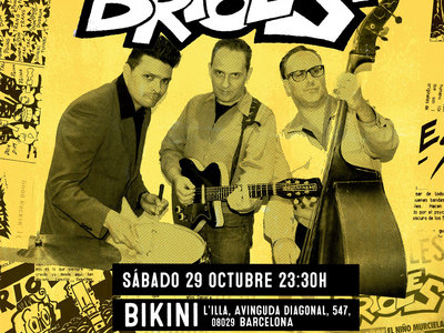 Cartel Brioles 30 Aniversario Sala Bikini 29/10/2016 main photo