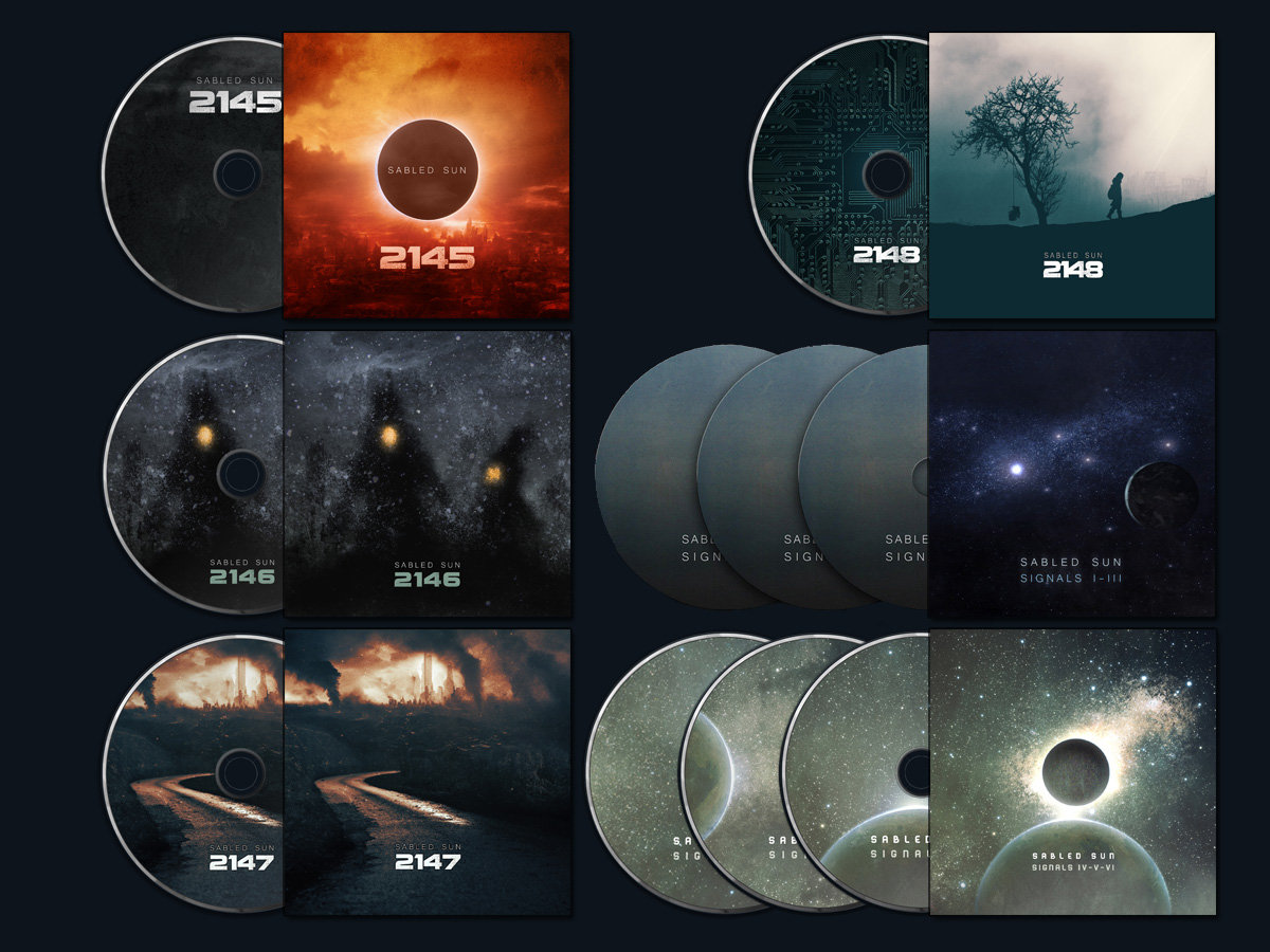 Sabled Sun - 2148. Sabled Sun - Signals I-III (3 CD) Sabled Sun - Signals  IV-VI (3 CD)