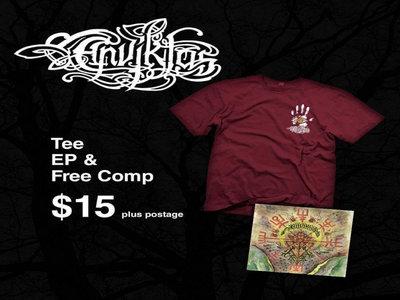 Enviktas Self-titled EP t-shirt + Free Compilation CD main photo