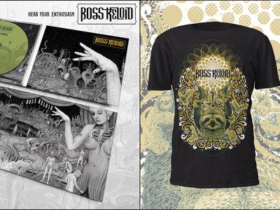 Herb Your Enthusiasm CD 6 Panel Digipak + T-Shirt (Sun Sloth Design BLACK) + Patch Bundle main photo