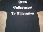 Cliteater FETC t shirt photo