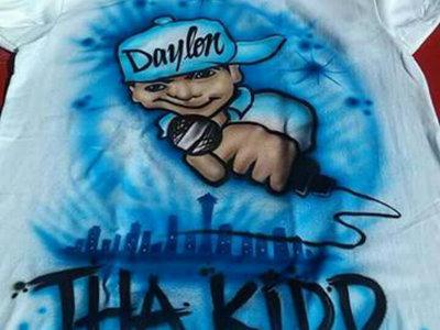 Daylon Tha Kidd Airbrushed T-Shirt main photo