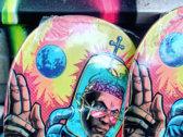 "Kool Keith aka Tashan Dorrsett ""The Preacher"" Ltd Edition Black Stain Deck 8.625 photo"
