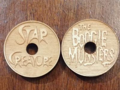 Boogie Munsters/Star Creature 45 Adapter Set main photo