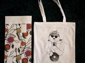 Breaks & Beats Podcast Bear tote bag photo