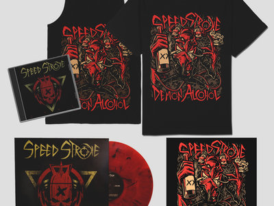 """Fury"" (CD+VINYL) + ""Demon"" Tee/Tank BUNDLE main photo"