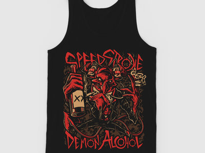 """DEMON ALCOHOL"" Tank Top main photo"