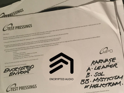 "ENV008 - Karnage - 12"" Test Presses - A. Leaper B. SOL BB. Mysticism (ft Helktram) main photo"