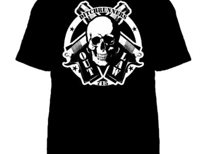 Outlaw skulls and pistols main photo