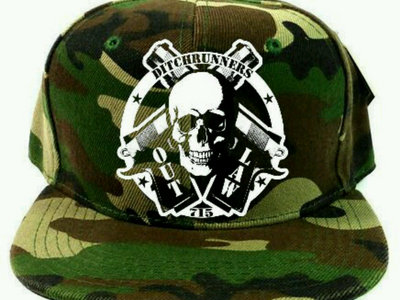 Camouflage Outlaw Snapback main photo