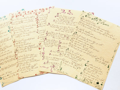 Handwritten Lyrics main photo