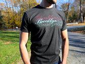 "Brooklyn Duo ""Triple"" T-shirt (vintage black) MEDIUM ONLY photo"
