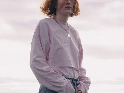 "Pink Long Sleeve ""Jaunt"" T-Shirt main photo"