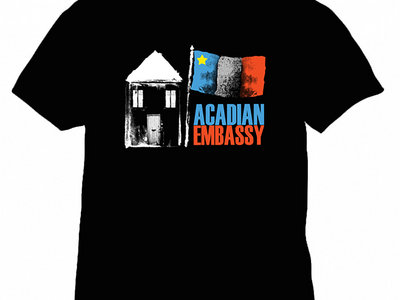 Acadian Embassy Logo T-Shirt *BACK IN STOCK* main photo