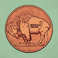 Buffalo Nickel image