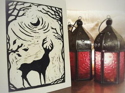 "SOLD OUT Handmade ""Folk Card"" main photo"