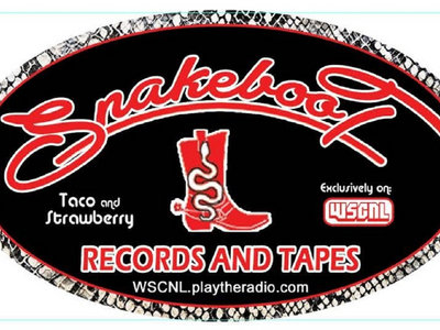 Snakeboot Records and Tapes oval sticker main photo