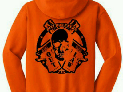 Hunter's Orange Outlaw hoodie main photo