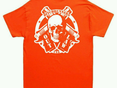 Hunter's Orange Outlaw tee main photo