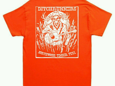 Hunter's Orange Northwoods Timberpunx tee main photo