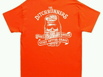Hunter's Orange Typsy Gypsy tee main photo