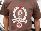 Official FC St Pauli / The Wakes - No Human Is Illegal tshirt photo