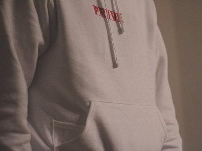 ✖ Privé Apparel ✖ Red #BoxLogo Hoody main photo