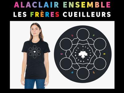 T-shirt logo Les Frères Cueilleurs main photo