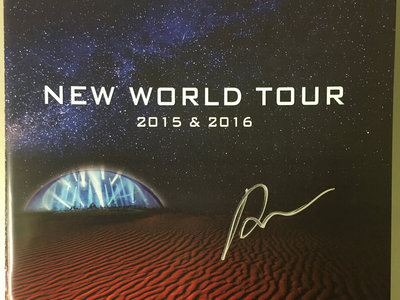 **Signed** Tour Program - New World Live (Limited Edition) main photo