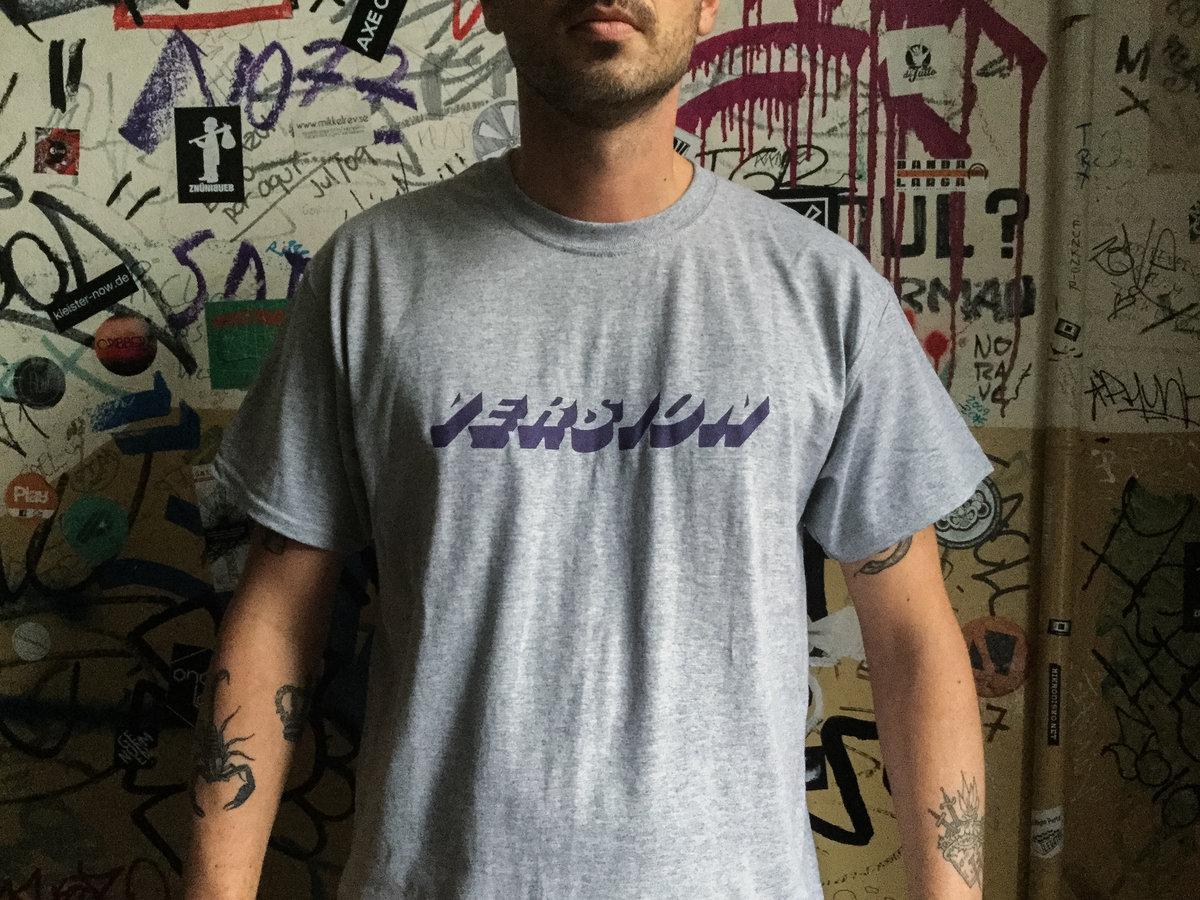 VERSION t-shirt 001 (purple/grey) main photo