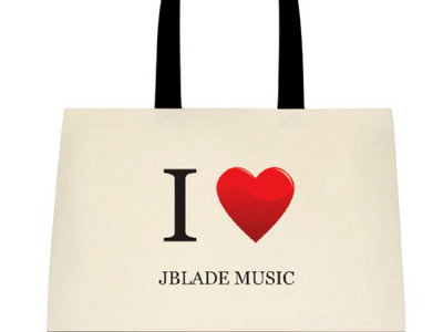 I Heart JBlade Tote Bag main photo